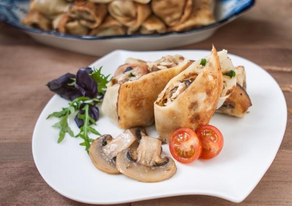 Рецепт                  Масленица 2015: Рецепт блинов с грибами