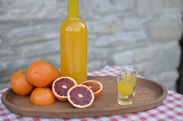 Рецепт                  Домашний апельсиновый ликер