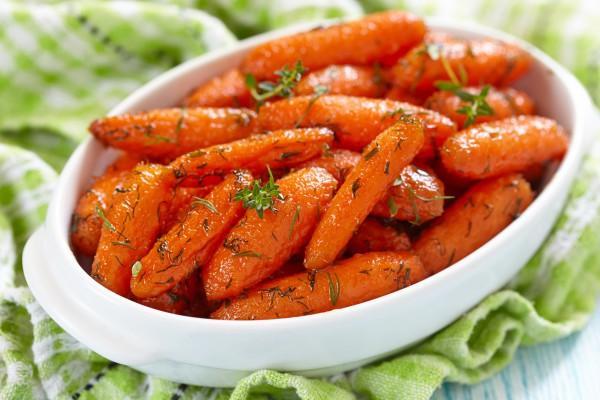 Рецепт                  Глазированная морковь