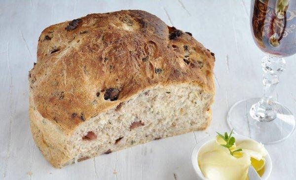 Рецепт                  Быстрый хлеб с оливками