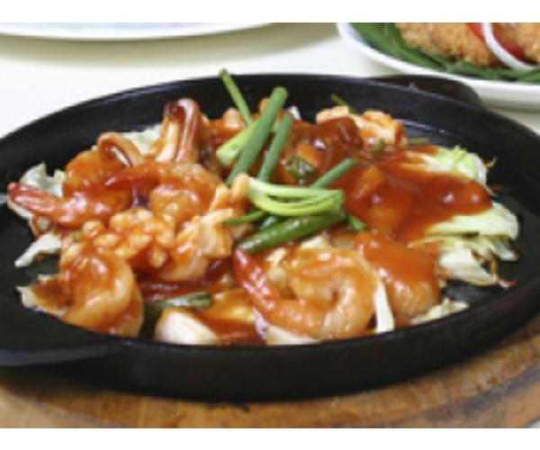 Рецепт                  Креветки по-тайски