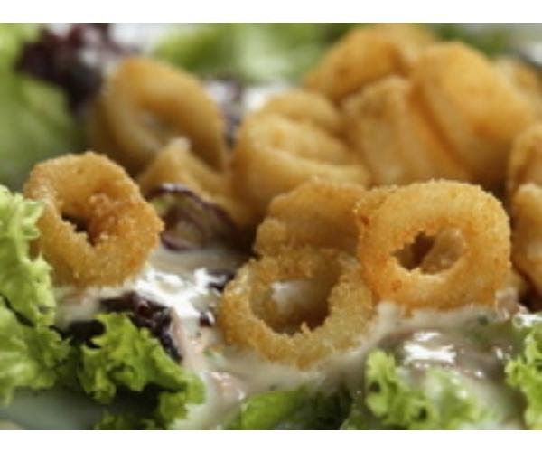 Рецепт                  Кольца из кальмаров