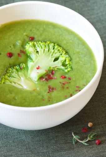 Рецепт                  Постный суп-пюре из брокколи