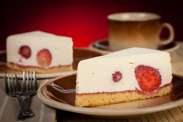 Рецепт                  Клубничный пирог с рикоттой