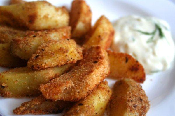 Рецепт                  Ароматный запеченный картофель