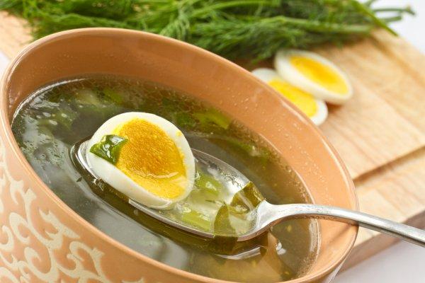 Рецепт                  Зеленый борщ из щавеля