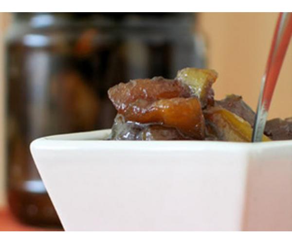 Рецепт                  Яблочное варенье с коричневым сахаром