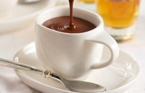 Рецепт                  Горячий шоколад с бренди