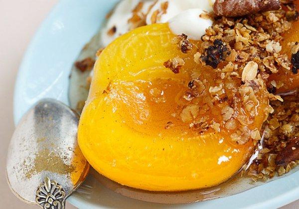 Рецепт                  Абрикосы в меду