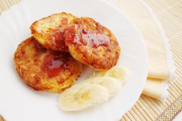 Рецепт                  Великий пост 2015: Бананово-яблочные оладьи