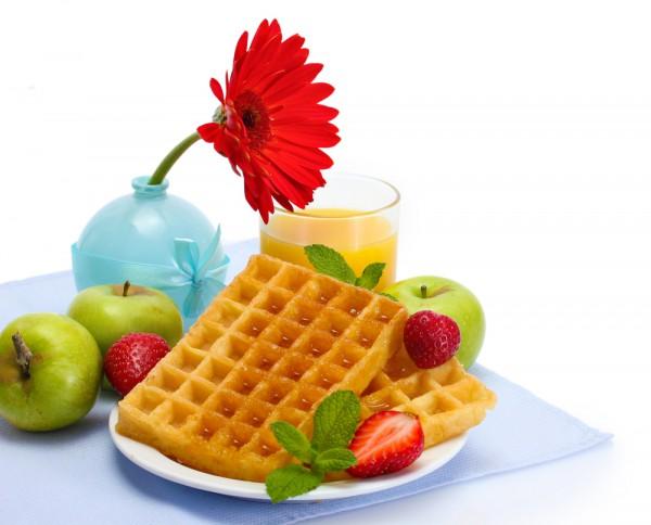 Рецепт                  Бельгийские вафли с медом