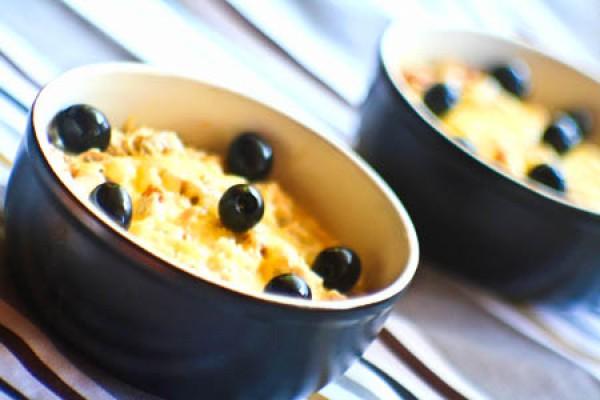 Рецепт                  Новогодние рецепты: Жюльен с курицей, грибами и маслинами