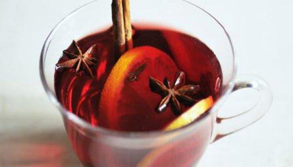 Рецепт                  Глинтвейн с имбирем и апельсинами