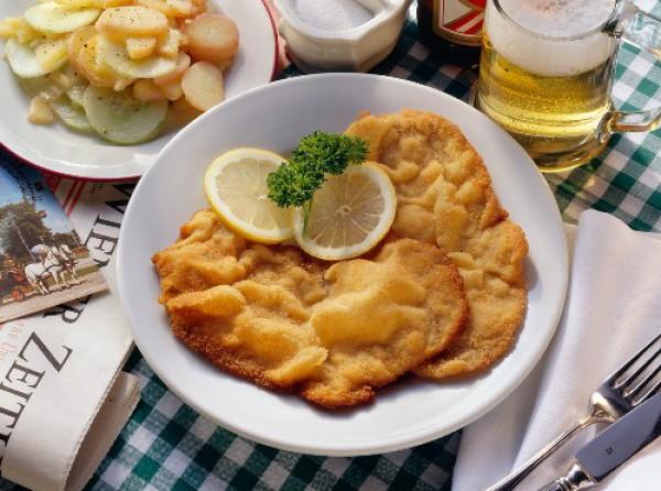 Рецепт                  Венский шницель: Рецепт приготовления