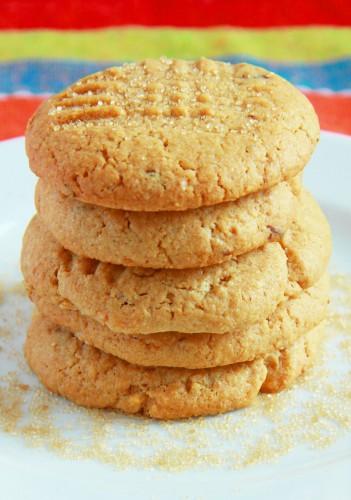 Рецепт                  Печенье с арахисовым маслом: Рецепт