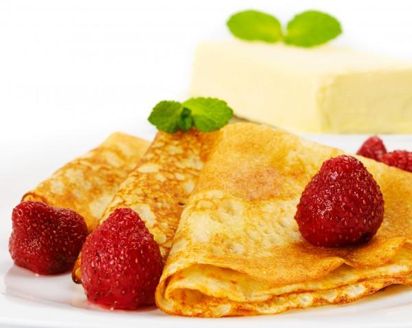 Рецепт                  Масленица 2015: Рецепт блинов на кефире и молоке