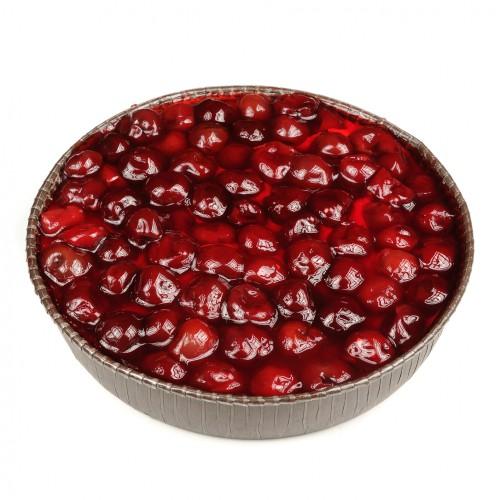 Рецепт                  Бисквитный торт с йогуртом и вишневым желе