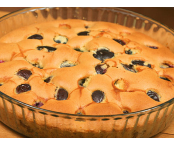 Рецепт                  Сливовый пирог