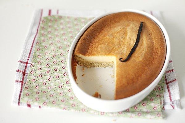Рецепт                  Сметанный пирог с ванилью