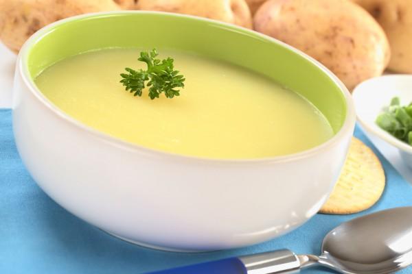 Рецепт                  Картофельный суп-пюре