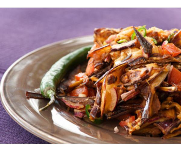 Рецепт                  Восточный салат из баклажанов