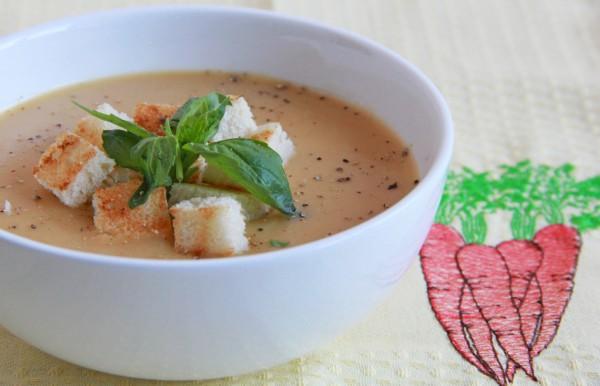 Рецепт                  Великий пост 2015: Морковный суп-пюре