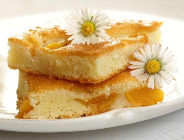 Рецепт                  Простой персиковый пирог с ванилью и корицей