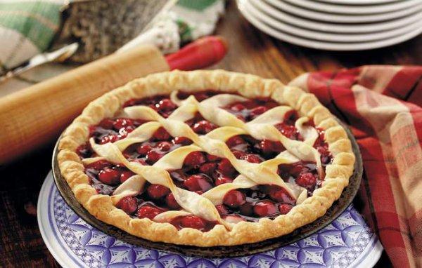 Рецепт                  Вишневый пирог: ТОП-5 рецептов