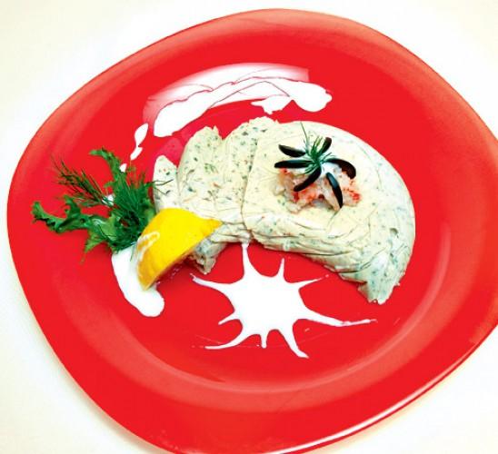Рецепт                  Рецепты на 8 марта: Сырный мусс с крабами