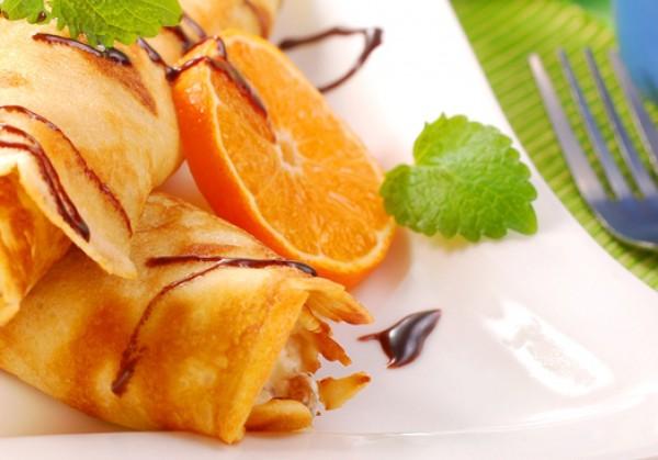 Рецепт                  Масленица 2015: Блины с апельсиновым соусом