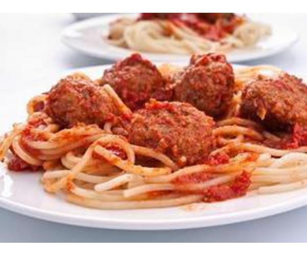 Рецепт                  Спагетти с тефтелями в томатном соусе