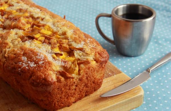 Рецепт                  Ванильный кекс с манго