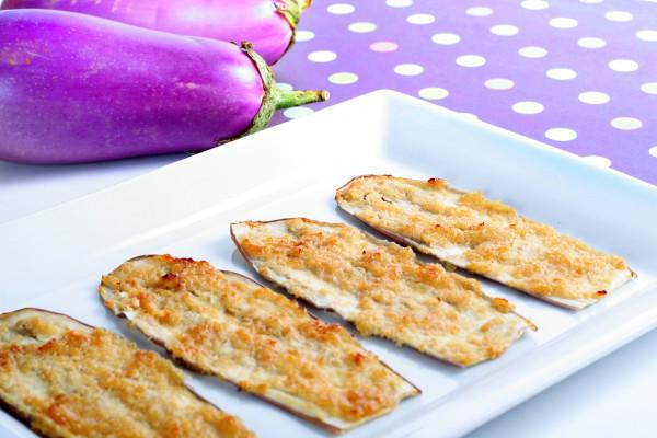 Рецепт                  Запеченные баклажаны с сыром и чесноком