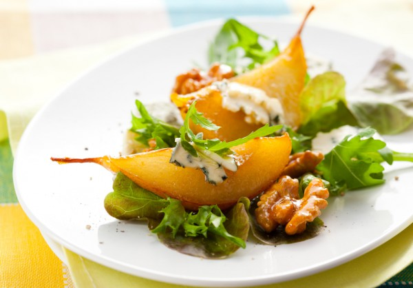 Рецепт                  Осенняя закуска из груш и сыра