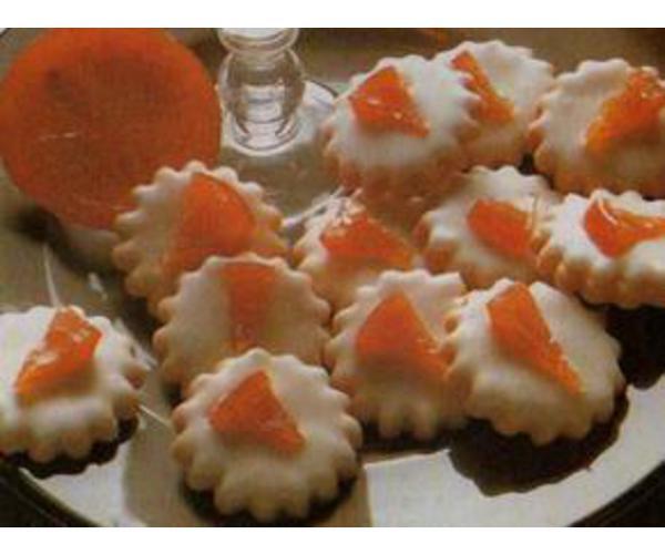 Рецепт                  Апельсиновое печенье