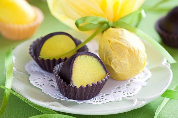 Рецепт                  Шоколадные пасхальные яйца