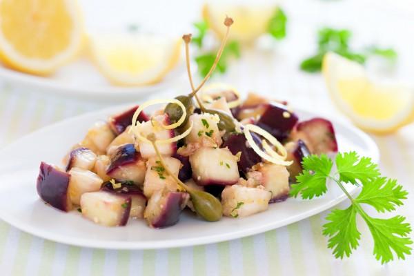 Рецепт                  Холодная закуска из баклажанов