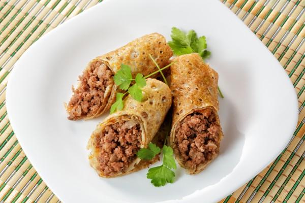 Рецепт                  Масленица 2015: Рецепт блинов с мясом и яйцом