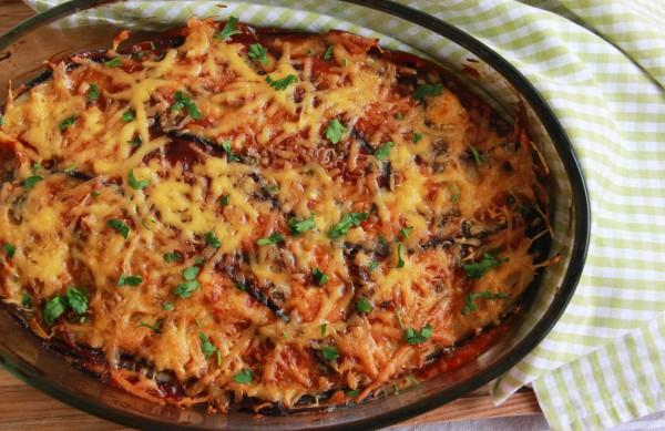 Рецепт                  Запеченные баклажаны по-пармски