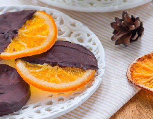 Рецепт                  Карамелизированные апельсины в шоколаде