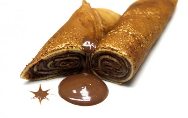 Рецепт                  Блины с шоколадным кремом