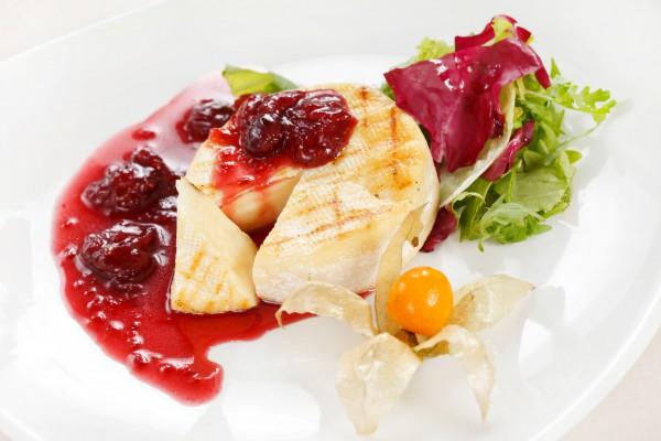 Рецепт                  Вишневый соус с красным вином