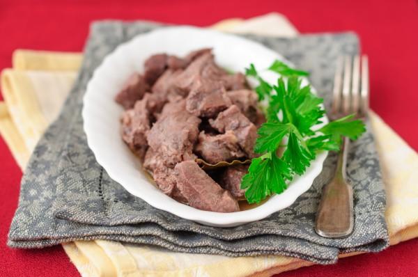 Рецепт                  Тушеная свинина в красном вине