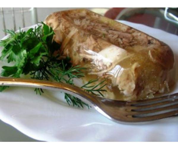 Рецепт                  Холодец из курицы
