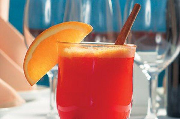 Рецепт                  Горячий апельсиновый коктейль с медом