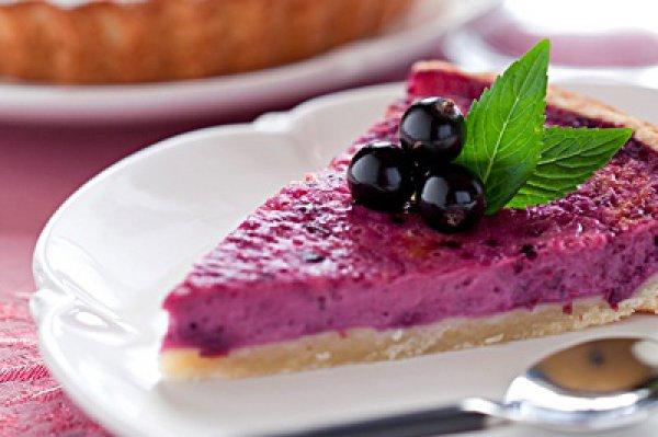 Рецепт                  Пирог с начинкой из смородины и красного вина