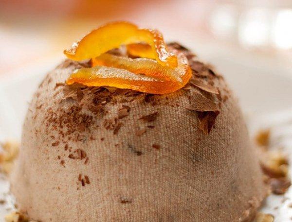 Рецепт                  Шоколадная пасха с апельсиновыми цукатами