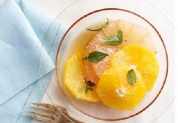 Рецепт                  Витаминный цитрусовый салат