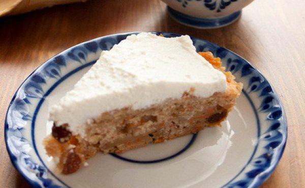 Рецепт                  Яблочно-морковный пирог