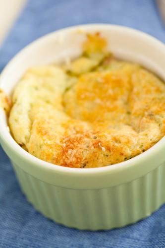Рецепт                  Классическое сырное суфле